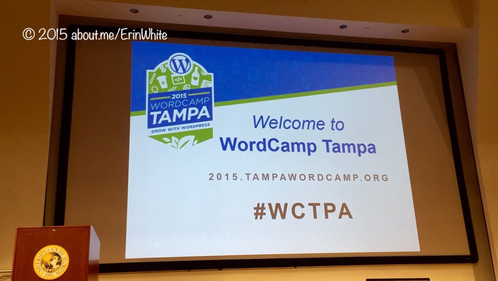 2015-09 Welcome To WordCamp Tampa WORDPRESS