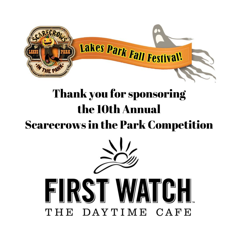 Event Sponsor Graphics: First Watch